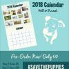 2018 Milk & Furiends Calendar