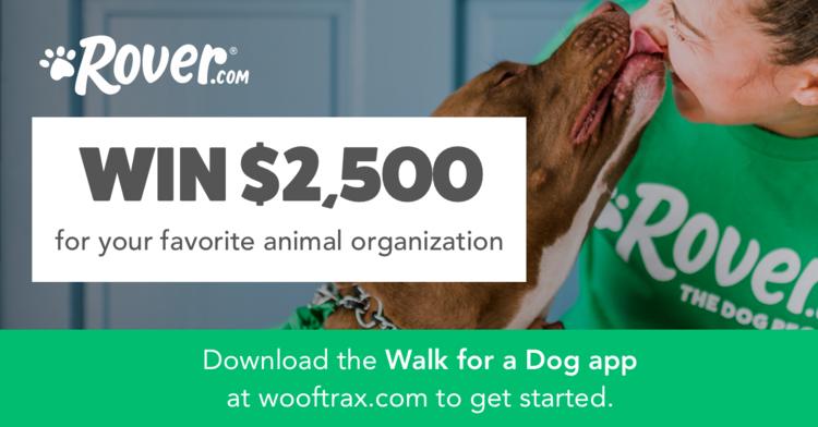 Wooftrax Rover.com Fundraiser